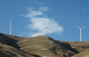 Nine Canyon Wind Turbines