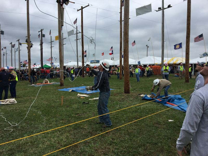 3rd International Lineman Rodeo photo